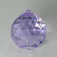 Feng Shui 30mm Swarovski Crystal - Amethyst Violet | Calgary Alberta