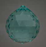 Feng Shui 30mm Swarovski Crystal - Antique Green | Calgary Alberta