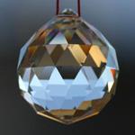 Feng Shui 30mm Swarovski Crystal - Clear | Calgary Canada