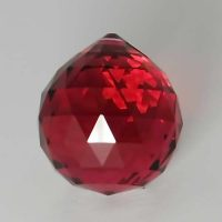 Feng Shui 30mm Swarovski Crystal - Red | Calgary Alberta