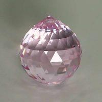 Feng Shui 30mm Swarovski Crystal - Pink | Calgary Alberta