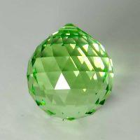 Feng Shui 30mm Swarovski Crystal - Peridot Green | Calgary