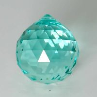 Feng Shui 30mm Swarovski Crystal - Antique Green | Calgary Alberta