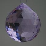 Feng Shui 30mm Swarovski Crystal - Violet Purple | Calgary Alberta