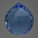Feng Shui 30mm Swarovski Crystal - Sapphire Blue | Calgary Alberta