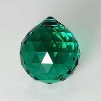 Feng Shui 30mm Swarovski Crystal - Emerald Green | Calgary Alberta
