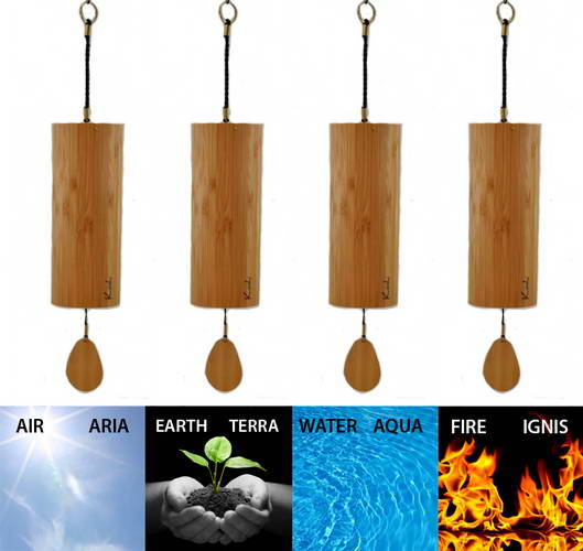 Koshi Set Wind Chimes | Feng Shui | Sound Therapy | Canada
