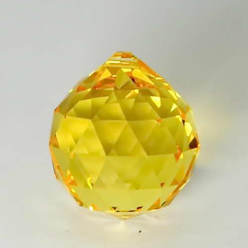 Feng Shui 30mm Swarovski Crystal - Yellow   Calgary Alberta