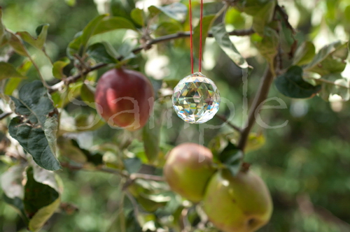 Outdoor Crystal BTB Feng Shui Note Card